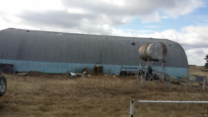 Car, RV, Trailer Storage or Quonset For Rent Close To Hanna AB