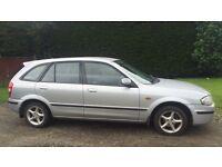 CHEAP MAZDA 323 1.4L (2001) low miles long mot clean car 5 door