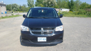 Amazing deal on a perfectly running 2012 Black Dodge Caravan