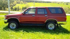 1994 Toyota 4Runner 4x4 fixer-upper or for parts