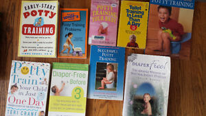 Potty Training Books for parents $20 for 9 books London Ontario image 1