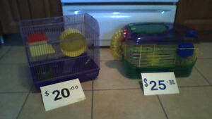 HAMSTER CAGES (Reg $20) (Deluxe $25) Includes all Fixins WOW