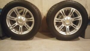 "33""A/T tires and 20""rims like new for sale fits Dodge Ram."