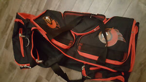"""Brand New with Tags Sentators Large Rolling Hockey Bag 37"""""""