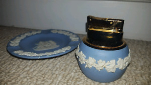 Wedgwood Lighter and Plate