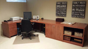 "Home or Office Desk ""PRICED REDUCED TO SELL QUICKLY"""