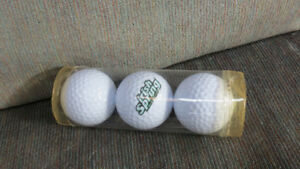 Irish Spring golf balls(3)