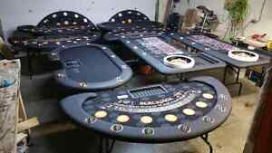 Planet Gaming, custom made poker table, blackjack, roulette more