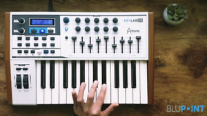 Arturia Keylab 25, includes software lic.