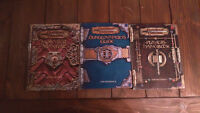Dungeons & Dragons - 3 Core Rulebooks - v3.0 - Used - Neg