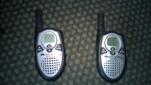 Midland GXT-255 and Cobra MicroTalk FRS110-2 Radios