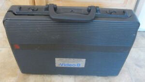 Sony CCD-V3 Video 8 Camcorder w/ Hard Case