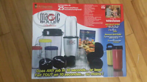 Magic bullet deluxe 25 piece set