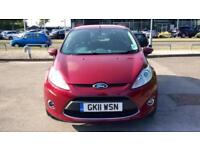 2011 Ford Fiesta 1.25 Zetec (82) Manual Petrol Hatchback