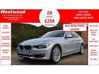 BMW 320 2.0 ( 184bhp ) ( s/s ) Auto 2013MY i Luxury