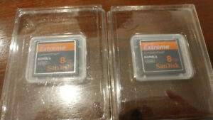 Sandisk extreme compactflash card 2 x 8gb