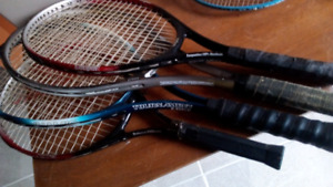 Lots of Racquets