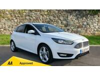 2017 Ford Focus 1.0 EcoBoost 125 Zetec Edition Manual Petrol Hatchback