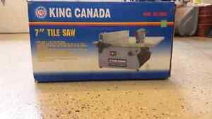 "King canada 7"" tile saw"
