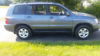 2003 Toyota Highlander Base SUV, Crossover...very LOW kms