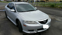 2004 Mazda Mazda6 GT V6! Mint condition. Needs to go!