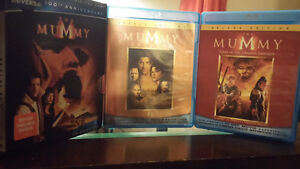 THE MUMMY TRILOGY BLU RAY FOR $15 AND OTHER BLU RAY $5