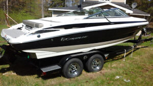 2016 Crownline Bowrider luxury boat and trailer 22 ft 225 ss