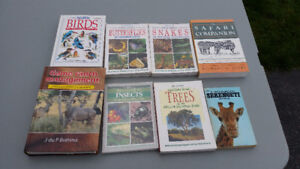 Various South African Wildlife Books