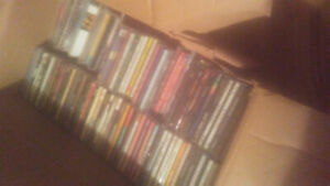 Big box OF CDS about 150 of them