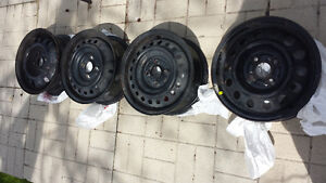 4 x 100 Steel Rims Honda Toyota.Acura and others. 14 inch rims