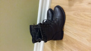Worn once, ankle boots