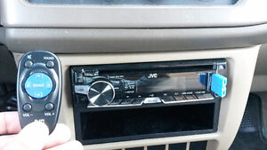 JVC Car stereo with remote