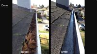 EAVESTROUGH cleaning services for you!!