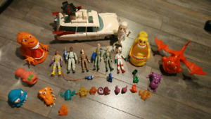 Lot de jouets Ghostbusters vintage 1984 ambulance