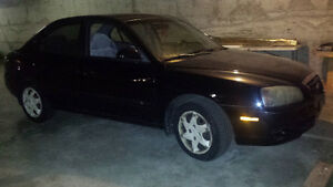 2004 Hyundai Elantra Black Other