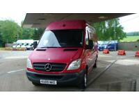 2009 MERCEDES BENZ SPRINTER 2.1 CDI 311 LWB Extra High Roof Van