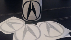4 ACURA DECAL /STICKERS