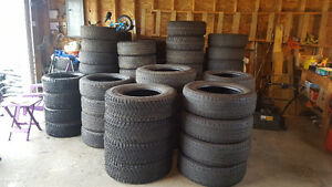 Tires $15 each or $500 for all