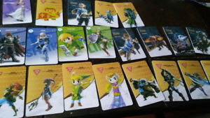 Zelda amiibo cards complete set for wii u switch