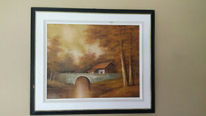 Scenic oil paintings for sale