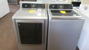 Matching washer and dryer with 90 day warranty. $599.