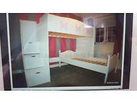 Large high bed, bargain buy!