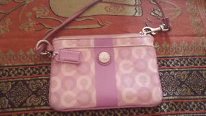 coach clutch and/or Guess purse