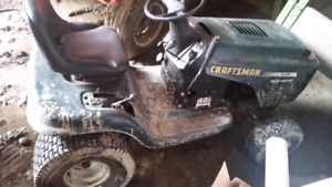 Craft man's 15hp riding Mower