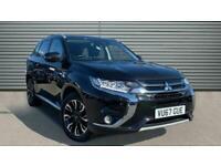 2017 Mitsubishi Outlander 2.0h 12kWh 4hs CVT 4WD (s/s) 5dr Auto SUV Petrol Plug-
