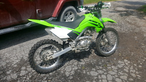 2008 Kawasaki KLX140 L Dirt Bike