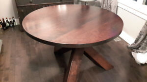 Solid cherry customer made table