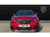 2018 Peugeot 3008 2.0 BlueHDi 180 GT 5dr EAT8 Diesel Estate Auto Estate Diesel A