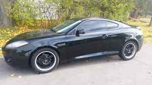 2008 Hyundai Tiburon GS Coupe (2 door) Kitchener / Waterloo Kitchener Area image 2