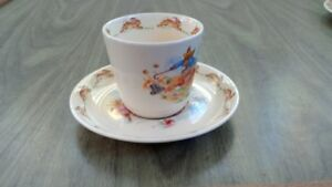 Bunnykins 1950s cup and saucer (Royal Doulton)